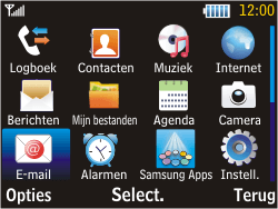 Samsung S3570 Chat 357 - E-mail - E-mails verzenden - Stap 3