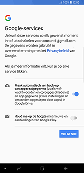 Samsung Galaxy Note 8 (N950) - Applicaties - Account aanmaken - Stap 18