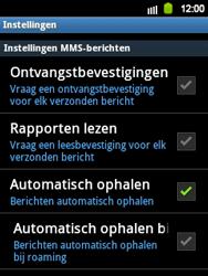 Samsung S5360 Galaxy Y - MMS - probleem met ontvangen - Stap 4