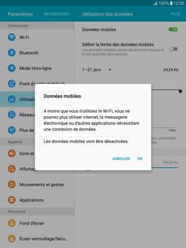 Samsung T815 Galaxy Tab S2 9.7 - Internet - Désactiver les données mobiles - Étape 6