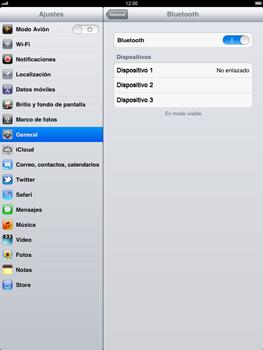 Apple iPad 2 - Bluetooth - Conectar dispositivos a través de Bluetooth - Paso 6