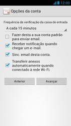 Huawei Ascend G510 - Email - Como configurar seu celular para receber e enviar e-mails - Etapa 17