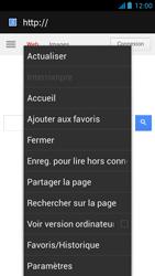 Acer Liquid E2 - Internet - Navigation sur internet - Étape 6