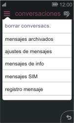 Nokia Asha 311 - Mensajería - Configurar el equipo para mensajes de texto - Paso 4