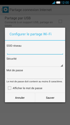 Bouygues Telecom Ultym 4 - Internet et connexion - Partager votre connexion en Wi-Fi - Étape 8