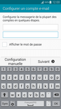 Samsung N910F Galaxy Note 4 - E-mail - Configuration manuelle - Étape 6