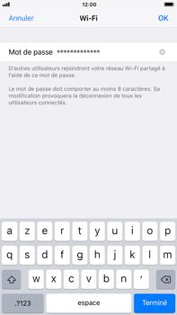 Apple iPhone 8 Plus - Internet et connexion - Partager votre connexion en Wi-Fi - Étape 5