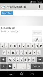 Sony Xpéria E3 - Contact, Appels, SMS/MMS - Envoyer un MMS - Étape 12
