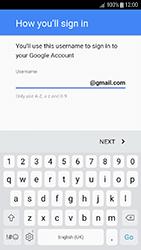 Samsung Galaxy J3 (2017) - Applications - Create an account - Step 11