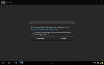 Samsung N8000 Galaxy Note 10-1 - Applicaties - Applicaties downloaden - Stap 16