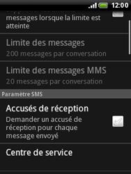 HTC A3333 Wildfire - SMS - Configuration manuelle - Étape 6