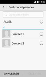 Huawei Ascend Y330 - Contactgegevens overzetten - delen via Bluetooth - Stap 6