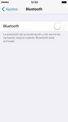 Apple iPhone SE iOS 10 - Bluetooth - Conectar dispositivos a través de Bluetooth - Paso 4