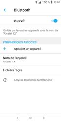 Alcatel 1X - Internet et connexion - Connexion avec un équipement multimédia via Bluetooth - Étape 8
