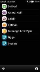 Nokia 700 - E-mail - Handmatig instellen - Stap 6