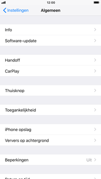 Apple iPhone 7 Plus iOS 11 - Toestel - Software update - Stap 5