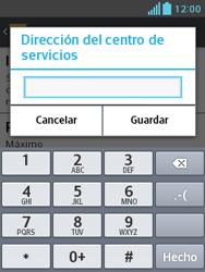 LG Optimus L3 II - Mensajería - Configurar el equipo para mensajes de texto - Paso 8