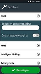Doro 8035 - SMS - SMS-centrale instellen - Stap 7