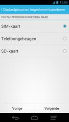 KPN Smart 300 - Contacten en data - Contacten kopiëren van toestel naar SIM - Stap 7