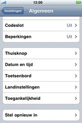 Apple iPhone 4 - Toestel reset - terugzetten naar fabrieksinstellingen - Stap 4