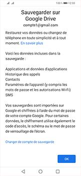 Huawei P Smart (2019) - Données - créer une sauvegarde avec votre compte - Étape 11