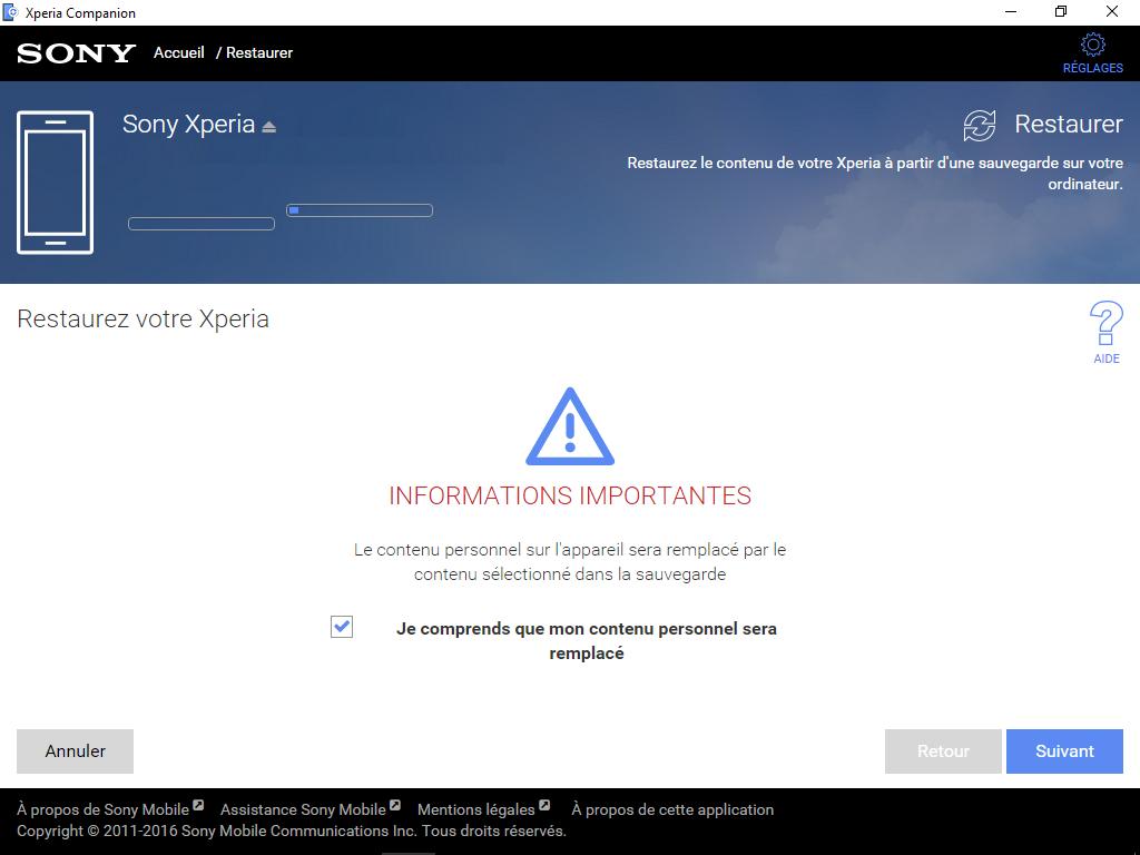 Sony Xperia XA2 - Aller plus loin - Gérer vos données avec un ordinateur - Étape 16