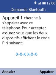 Nokia 8110 Banana - Bluetooth - Jumeler avec un appareil - Étape 8