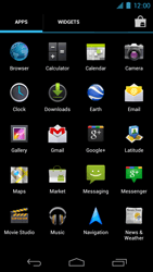 Samsung I9250 Galaxy Nexus - E-mail - Manual configuration - Step 3