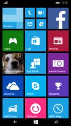 Microsoft Lumia 535 - Internet no telemóvel - Como configurar ligação à internet -  1
