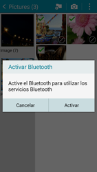 Samsung Galaxy A3 - Bluetooth - Transferir archivos a través de Bluetooth - Paso 11