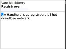 BlackBerry 9780 Bold - Instellingen - Configuratiebericht ontvangen - Stap 11