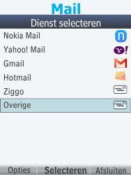 Nokia 301-1 - E-mail - handmatig instellen - Stap 6