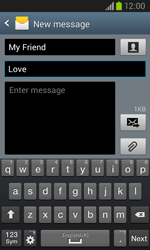 Samsung I8260 Galaxy Core - Mms - Sending a picture message - Step 11