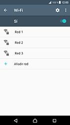 Sony Xperia XZ - Android Nougat - WiFi - Conectarse a una red WiFi - Paso 6