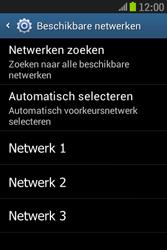 Samsung S6310 Galaxy Young - Netwerk - gebruik in het buitenland - Stap 11