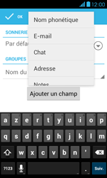 Bouygues Telecom Bs 401 - Contact, Appels, SMS/MMS - Ajouter un contact - Étape 8
