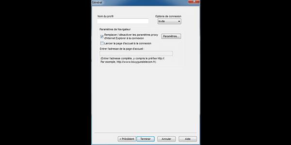 ZTE MF626 - Premiers pas - Configurer l