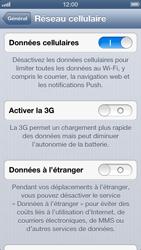 Apple iPhone 5 - Réseau - Changer mode réseau - Étape 6