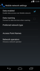 LG D821 Google Nexus 5 - Internet - Manual configuration - Step 6