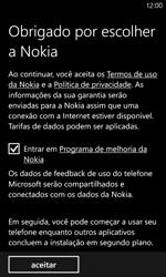 Nokia Lumia 920 - Primeiros passos - Como ativar seu aparelho - Etapa 11