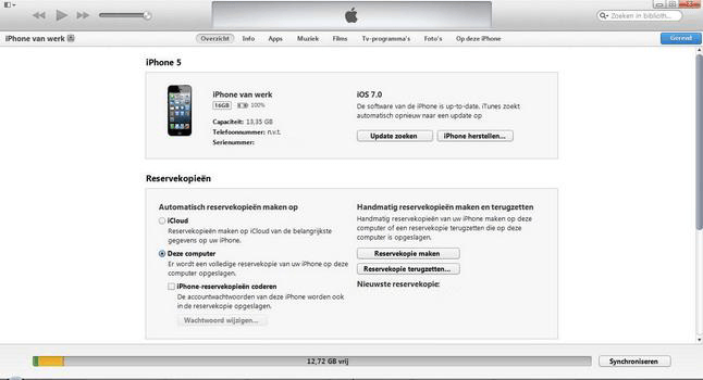 Apple iPhone 5 met iOS 7 - Software - PC-software installeren - Stap 9