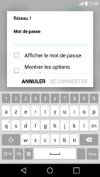 LG X Screen - WiFi et Bluetooth - Configuration manuelle - Étape 7