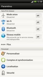 HTC One S - Internet et connexion - Désactiver la connexion Internet - Étape 5