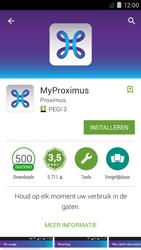 Acer Liquid Z410 - Applicaties - MyProximus - Stap 8