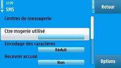 Nokia N97 - SMS - configuration manuelle - Étape 9