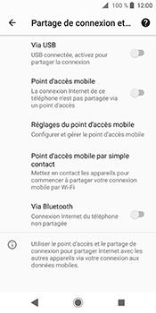 Sony Xperia XZ2 - Internet et connexion - Partager votre connexion en Wi-Fi - Étape 6