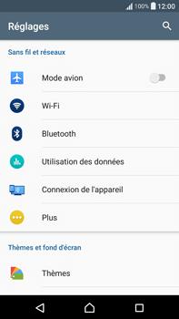 Sony F3211 Xperia XA Ultra - WiFi et Bluetooth - Configuration manuelle - Étape 4