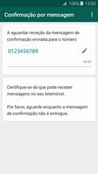 Samsung Galaxy A3 A310F 2016 - Aplicações - Como configurar o WhatsApp -  8