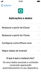 Apple iPhone 5s - iOS 12 - Primeiros passos - Como ligar o telemóvel pela primeira vez -  15