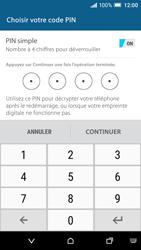 HTC One A9 - Sécuriser votre mobile - Activer le code de verrouillage - Étape 8